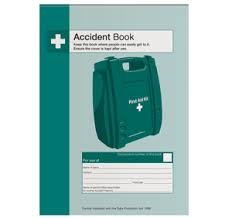 accident reporting book accident reporting book from safety sign supplies