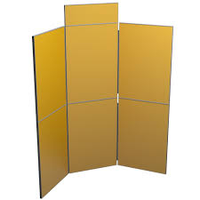 6 panel room divider 6 panel display board portable display boards display wizard