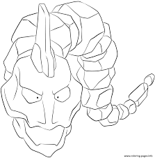 095 onix pokemon coloring pages printable