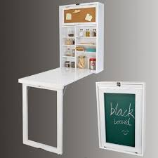 Fold Out Desk Diy White Desk Cupboard Wall Mounted Hideaway Drop Pull Fold Out