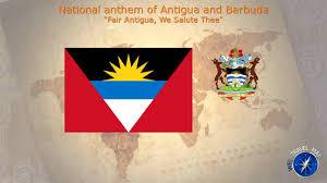 Flag Of Antigua Antigua And Barbuda National Anthem Youtube