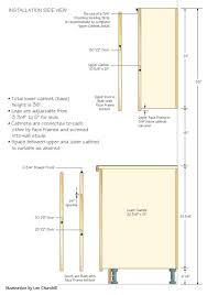 Kitchen Cabinet Diagram by Kitchen Cabinet Construction Plans Kitchen Cabinets
