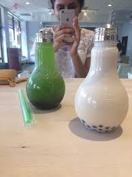 light bulb bubble tea honeydew and black milk bubble tea lightbulb yelp