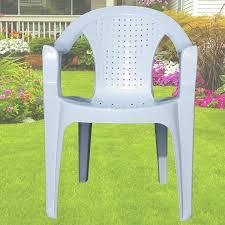 Outdoor Plastic Stackable Chairs Indoor U0026 Outdoor White Plastic Lawn Chairs Garden Patio Armchair