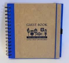 guest book free library guest book