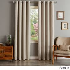 aurora home silvertone grommet top thermal insulated blackout curtain panel pair avocado 108l green size 108 inches polyester solid