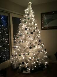 white tree walmart artificial