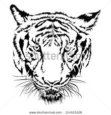 tiger clip black and white clipart panda free clipart
