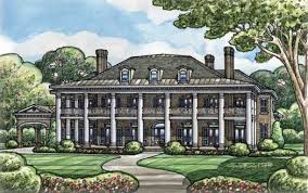 plantation style home plantation house plan 6 bedrooms 6 bath 9360 sq ft plan 10 1603