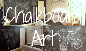 chalkboard wall art bedroom decor youtube
