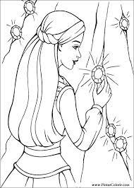 drawings paint u0026 colour barbie magic pegasus print design 018