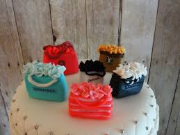 shopping bag cake toppers made of fondant u0026 gum paste cake ideas