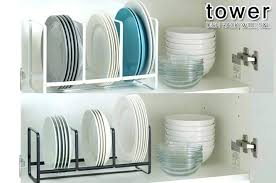 plate organizer for cabinet cabinet dish storage cabinet doors kitchen with accent lighting
