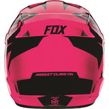 pink motocross helmets fox racing 2016 girls youth v1 race helmet pink available at