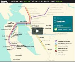 Dublin Pleasanton Bart Map by Interactive Bart Map On Vimeo