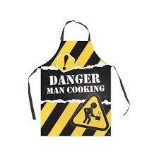 tablier de cuisine homme tablier de cuisine pour homme jaune danger