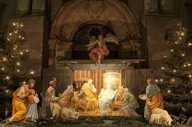 christmas manger nativity francis christmas history