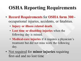 Osha Chair Requirements Chapter 15 Risk Management And Worker Protection Spring Ppt