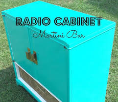 Upcycled Stereo Cabinet Vintage Radio Cabinet Upcycled Into A Martini Bar Giddy Upcycled