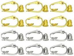 clip on earring converter clip on converters clip on earring converters turn your earrings