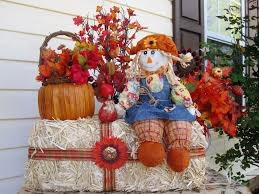 harvest decorations outdoor fall decorations martha stewart fall outdoor decorations