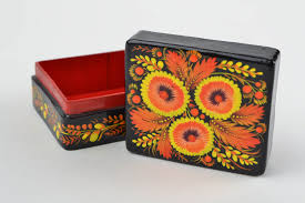 Home Decoration Handmade Madeheart U003e Papier Mache Jewelry Box Handmade Painted Box For