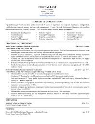 Information Security Resume Template 6 Sample Military To Civilian Resumes U2013 Hirepurpose