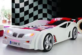 gti race car bed 5000 white kidsium