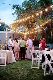 Backyard Wedding Lighting by 121 Best Overhead Lighting Images On Pinterest Marriage Wedding