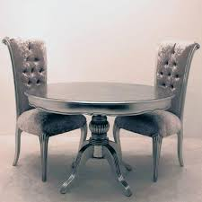 impressive silver dining table also interior home paint color