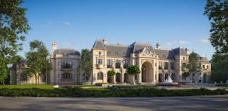 chateau design stunning chateau design from cg rendering homes of the rich