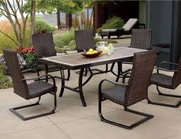 7 Pc Patio Dining Set - patio dining sets furniture video and photos madlonsbigbear com