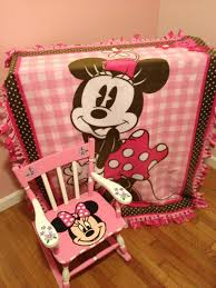 Mini Rocking Chair Inspired By My Lovely Daughter Who Loves Minnie Mouse Hand