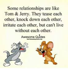 relationships tom u0026 jerry tease