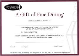 dining gift cards gift cards hanover chophouse