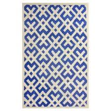 Royal Blue Outdoor Rug Anchor Your Sunroom Or Patio Seating Arrangement In Chic Style