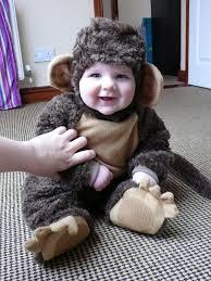 trying on halloween costumes o u0027grady baby