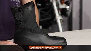 style motorcycle boots spidi x style h2out waterproof boots review at revzilla com youtube