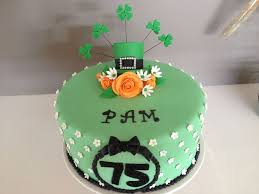 irish birthday cake st patricks ideas