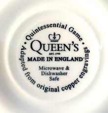 churchill thanksgiving dinnerware amazon com queen u0027s quintessential game collection with turkey