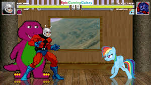 barney the dinosaur u0026 ant man vs dex starr the cat u0026 rainbow dash