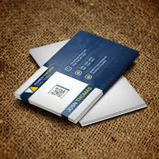 business card psd template black blue brand png and psd file