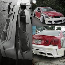 toyota celsior body kit mulpix my gs300 tfd concept typeii bodykit will be available very