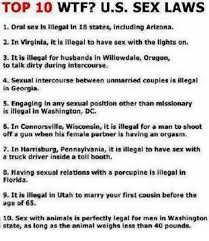 Sex Position Memes - top 10 wtf us sex laws 1 oral sex is illegal in 18 states