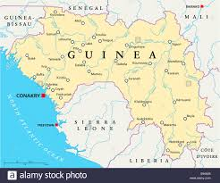 Map Of Sierra Leone Sierra Leone Political Map Capital Stock Photos U0026 Sierra Leone
