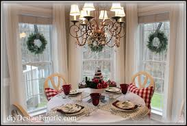 Christmas Decorations To Hang In Window diy design fanatic the breakfast room is ready for christmas