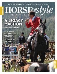 horse u0026 style magazine october november 2012 issue 7 by horse