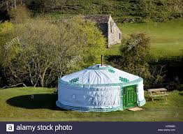 round camping accommodation at park house farm yurt in the