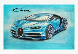 bugatti drawing bugatti chiron npscarart draw to drive
