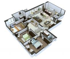 extraordinary inspiration house plan 3d online free 11 3d home